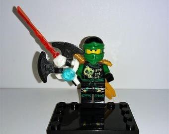 Lego ninjago lloyd etsy - Ninja vert lego ...