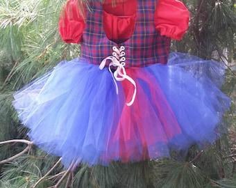 Scottish Princess Tutu Dress