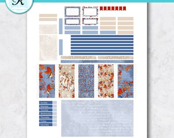 Passion Planner Stickers * Compact Sized Passion Planner * Printable Planner Stickers - FOREST TRAIL - Digital Download