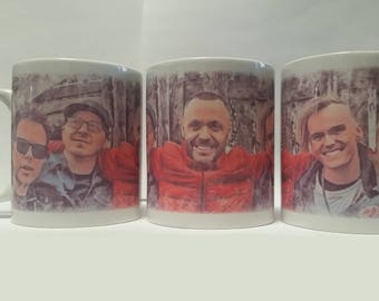 Blue October Band 11oz Sublimated Coffee Cup Mug