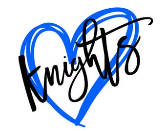 Knights Heart SVG