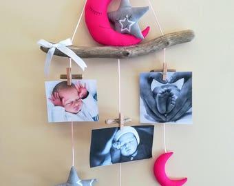 Photo boy birthday gift nursery decor