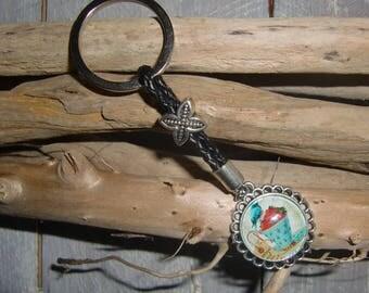 Keychain / bag retro jewelry