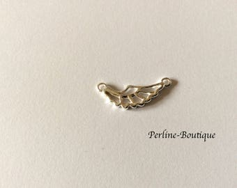 Spacer 23 * 9mm 925 sterling silver wing