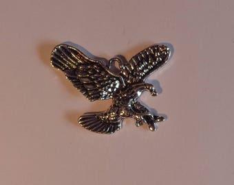 Silver Eagle charm