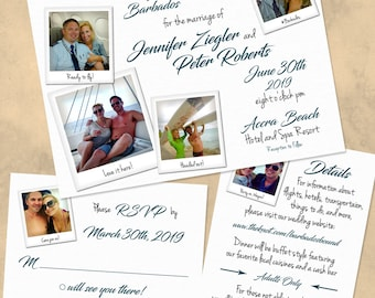 Come Fly With Me Wedding Invitation Set