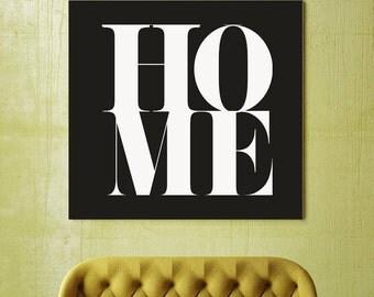 Simply Beautiful, Home, Family, Print, Gift, House, Housewarming Gift, Modern Art, Large