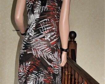 Dress Savannah sleeveless with lacing at the back