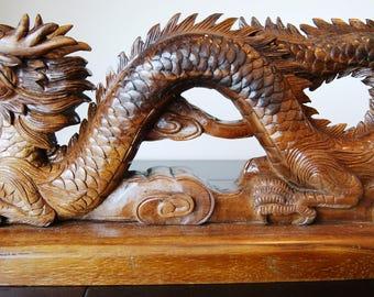 Dragon Wooden Sculpture