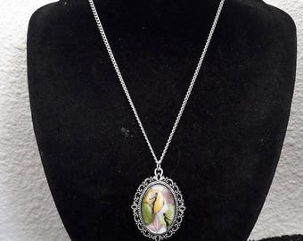 41 cm silver chain necklace