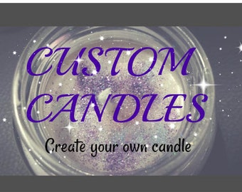 Custom Candle - personalisierte Kerze