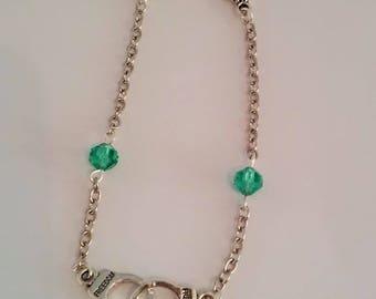 women bracelet silver cuff - woman bracelet - women jewelry chain woman - gift idea for her - gift idea for woman bracelet silver-