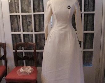 Custom 1950's Wedding Dress