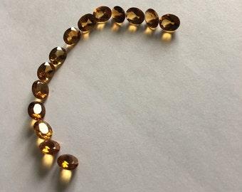 Citrine bracelet set