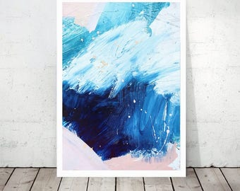 """Art Print From Original Artwork Within The """"Cove"""" Series. Contemporary Wall Art, A2."""