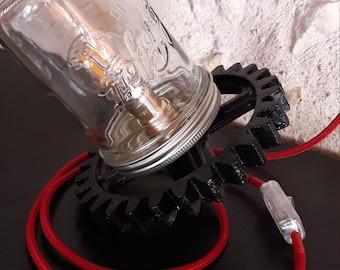 Lamp / / lighting / / industrial / / birthday gift / / housewarming gift / / recycling