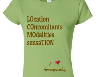 Homeopathy Tee Homeopathy T-shirt LoCoMoTion