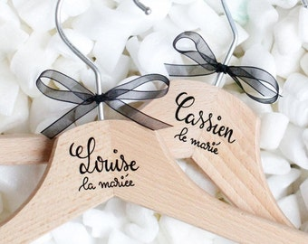 (Calligraphy pen) personalized wooden hanger