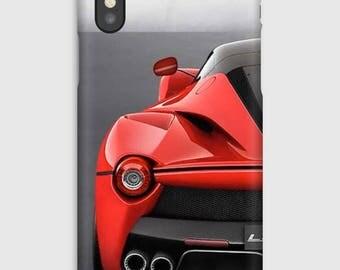Case for iPhone X 8, 8 +, 7, 7 +, 6s, 6, 6s +, 6, 5 c, 5, 5s 5SE, 4s, 4, The Ferrari