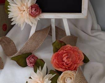 Rustic Wedding Tabletop Chalkboard