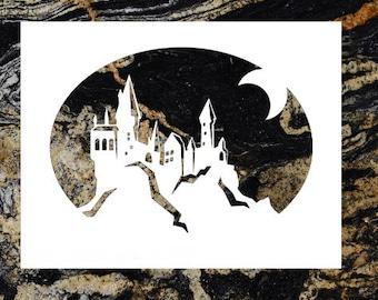 Hogwarts Custom Stencil Harry Potter Stencil