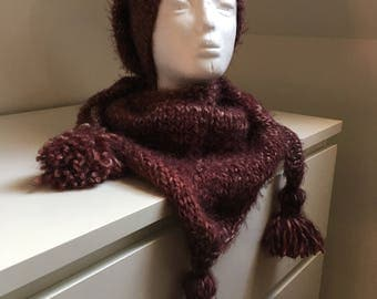 Scarf with a matching Hat
