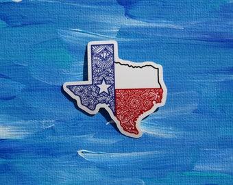 Zentangle Doodle- Texas Strong