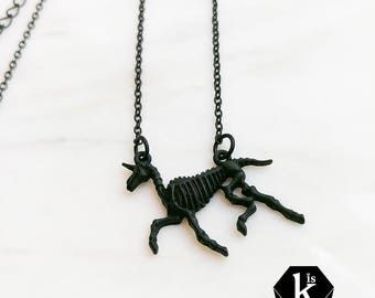 Fossil Necklace - N10 A-B