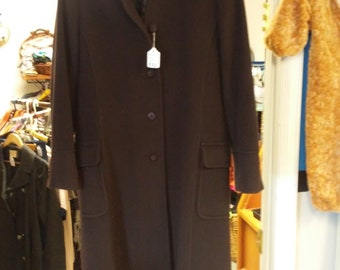 Vintage Murano Wool trench coat