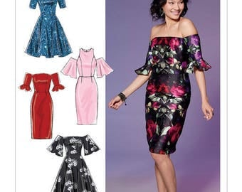 M7654 Mc Call's dress sewing pattern