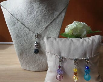The Choker necklace with 4 interchangeable pendants