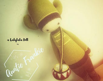 TOY - Carl The Cactus - Crochet / Amigurumi Doll Ready to Ship