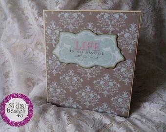 Scrapbook Mini-18th birthday-in Tilda design, photo book, photo book