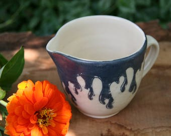 Water Drop Batter Bowl, Ceramic Kitchen Batter Bowl, Mixing Bowl, Ceramic Pour Bowl, Pottery Batter Bowl, Batter Bowl Pottery