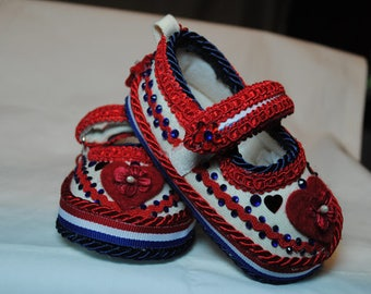 Harper Girl's Baby Shoes 6-9 months