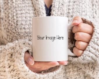Custom or Personalized Image Mug, Coffee Mug, Pet Mug, Photo Mug, Family Mug, Custom Mug, Personalized Mug, 11oz Mug, 15oz Mug