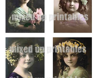 Mixed Up Printables - Tinted Images #1 - Girls