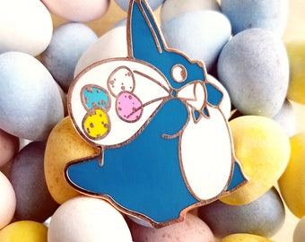Egg Delivery Pin | Ghibli Inspired | Spring Enamel Pin