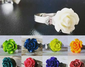 Heirloom Floral Rings