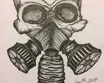 Death Breath Original Sketch