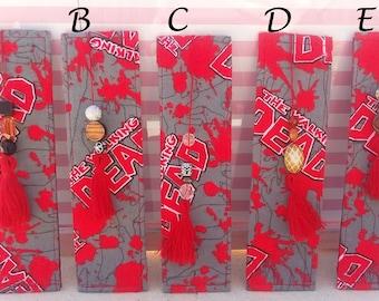 Walking Dead Fabric Bookmark
