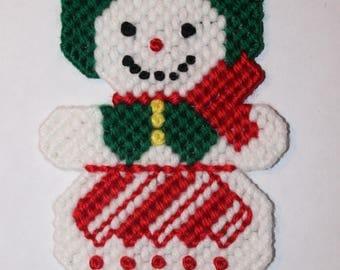 Mrs. Snowman Ornament