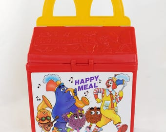 Fisher Price 1989 Mcdonalds Happy Meal Toy Box