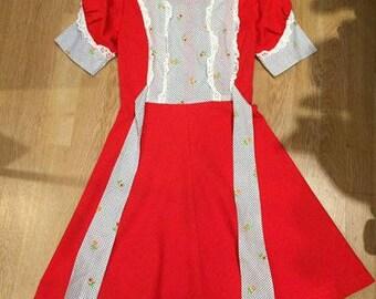 Vintage 60s Red dress