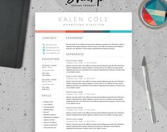 Resume Career Summary Examples Pdf Resume Template  Etsy Star Method Resume Pdf with It Resumes Examples Excel  Director Of It Resume Excel