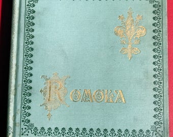 1898 Romola Vol. II by George Eliot hardcover illustrated book