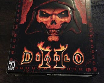 Diablo 2 - Big boxed PC Game - Complete -MINT - Classic PC  Game