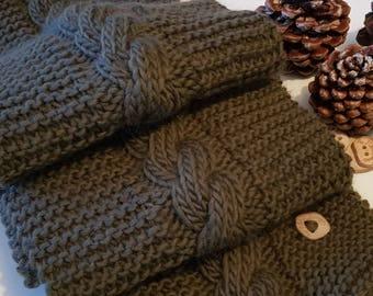100% fine wool scarf