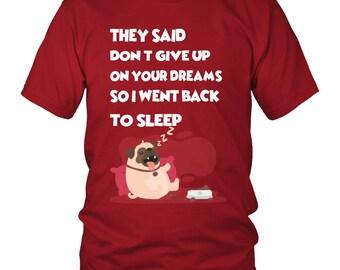 Funny Pug Shirt For Men and Women, Best Pug T-shirt Gift Idea For Fan, Pug Dog Women Shirts, Paggle Dog Men T-Shirt