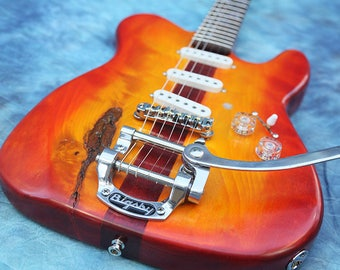 """T. Twang """"Tommycaster"""" Electric Guitar"""